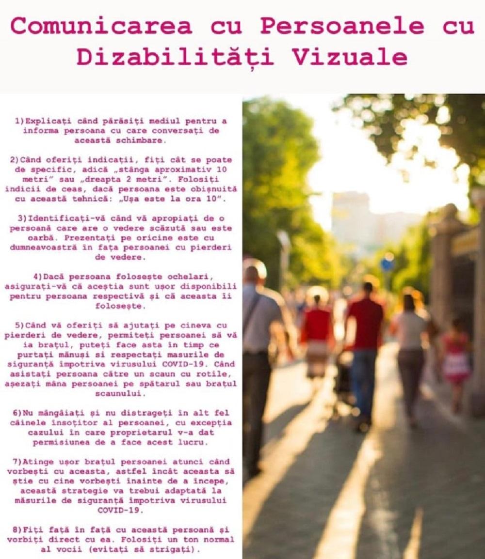 caracteristicile comunicării persoanelor cu deficiențe de vedere
